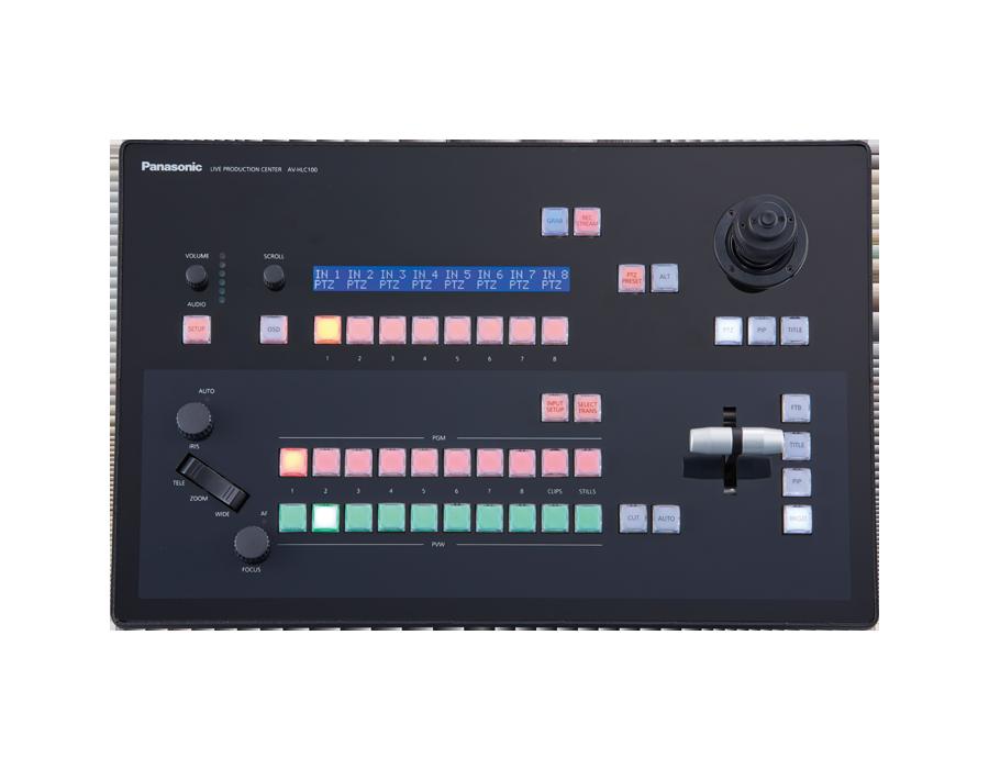 AV-HLC100操作面画像