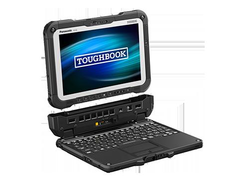 FZ-G2A(キーボードベース装着時)_右振り分離_画像