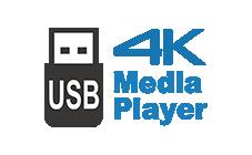 4K USBメディアプレーヤー