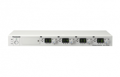 800 MHz帯ワイヤレス受信機(2波用/4波用)WX-UR502/WX-UR504