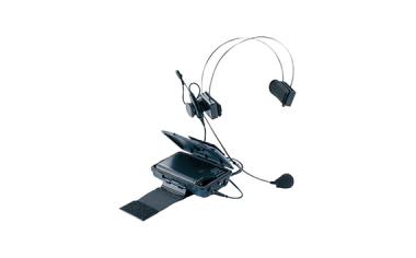 800 MHz帯インストラクター用 ワイヤレスマイクロホン