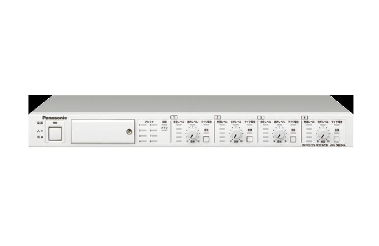 ワイヤレス受信機(4ch)WX-SR204A