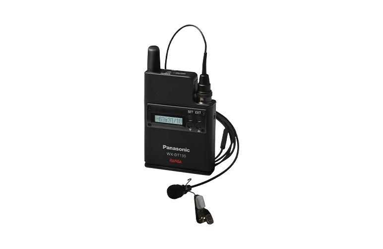 デジタルワイヤレスマイク(2ピース型)WX-DT135