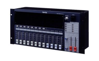 パターンプリセット機能付きコンパクトミキサー( 12イン、4アウト)