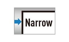Narrowベゼル