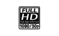 FULL HD 1080/30p