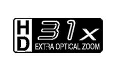 31倍 HD EX光学ズーム