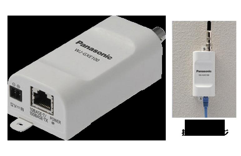 ネットワークビデオエンコーダー WJ-GXE100