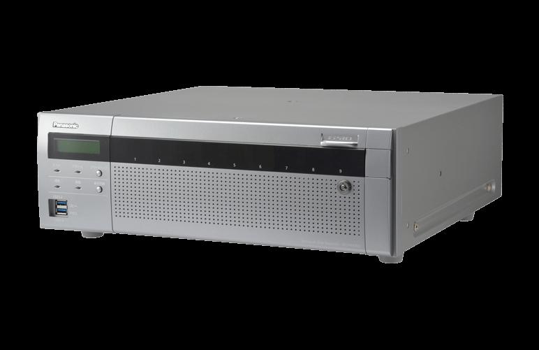 TURBO-RAID™ネットワークディスクレコーダー WJ-NX400K
