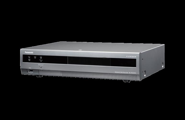 ネットワークディスクレコーダー WJ-NV250シリーズ