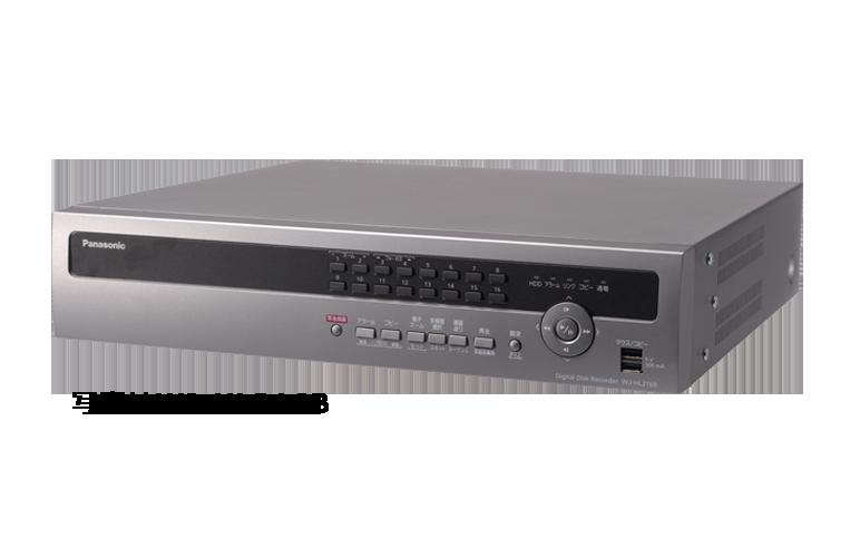 デジタルディスクレコーダー WJ-HL216B / WJ-HL208B / WJ-HL204B