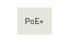 PoE+対応