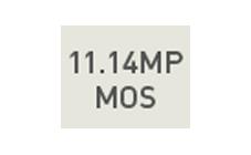 1114万画素 MOSセンサー
