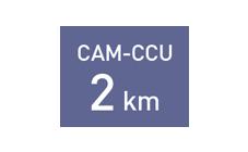 非圧縮長距離伝送2 km