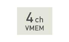 4CH VMEM